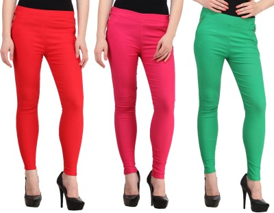 FIFO Women's Multicolor Jeggings