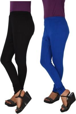HiNa Women's Black, Blue Leggings