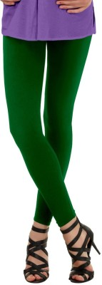 La Pezza Women's Dark Green Leggings