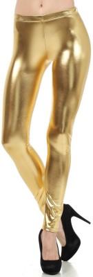 Saiarisha Women's Gold Leggings