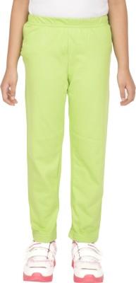 Ocean Race Girl's Green Leggings