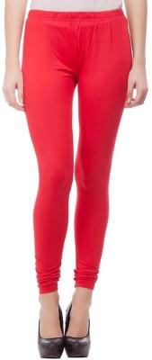 NEW TRENDS Women's Red Leggings