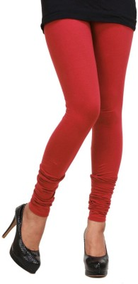 Fashion Studio Women's Red Leggings