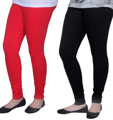 Carrol Women's Red, Black Leggings