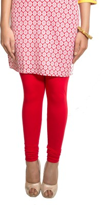 Red Saffron Women's Red Leggings