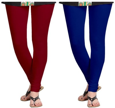 Roshni Creations Women's Red, Blue Leggings