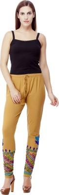 Franclo Women's Brown Leggings
