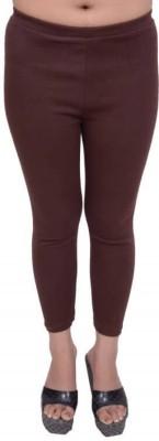 Snoby Women's Brown Leggings