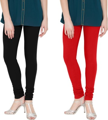 Nicewear Women's Black, Red Leggings
