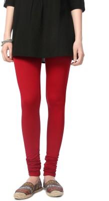 People Women's Red Leggings