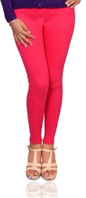Vama Women's Pink Jeggings