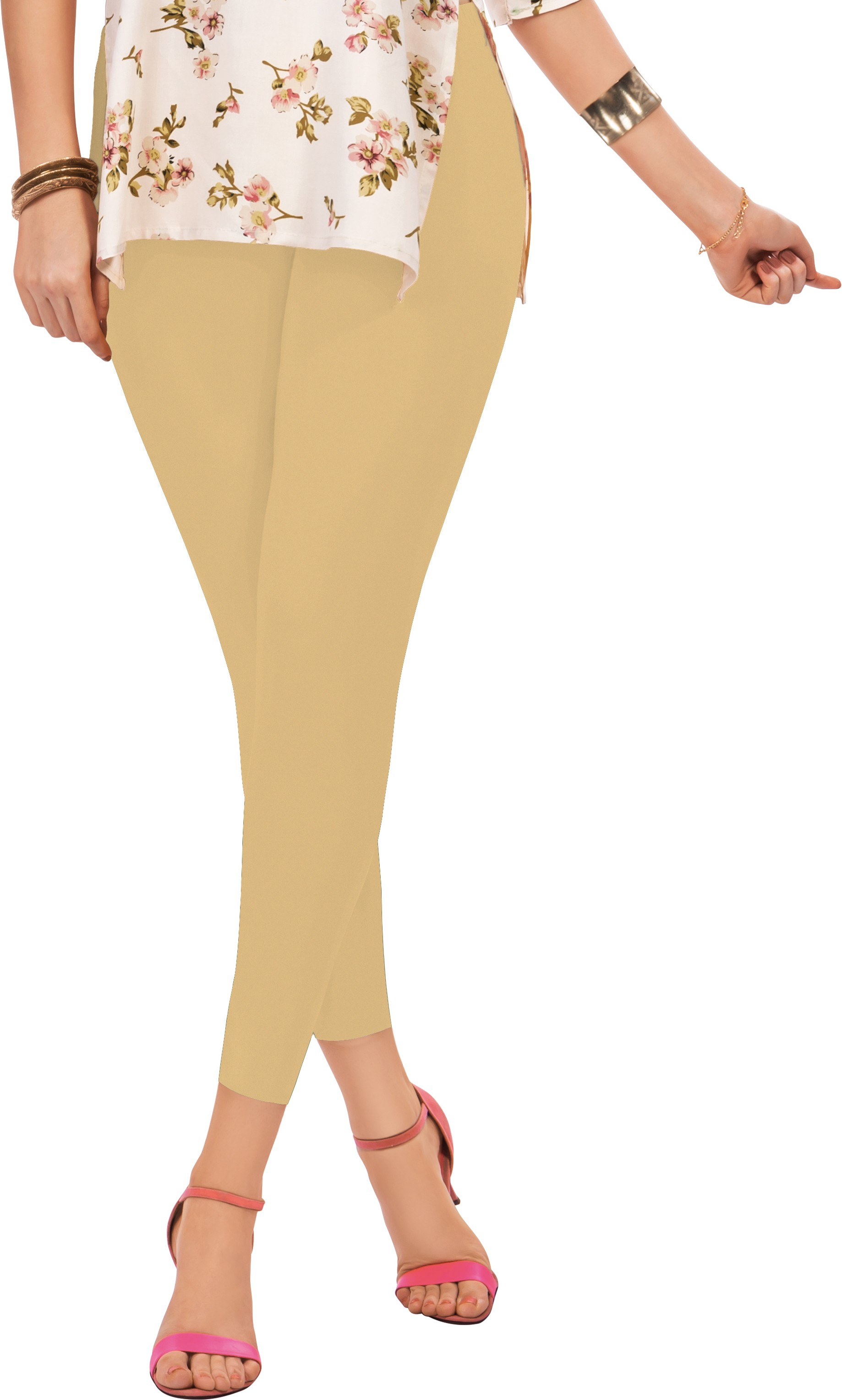 Sonari Womens Beige Leggings
