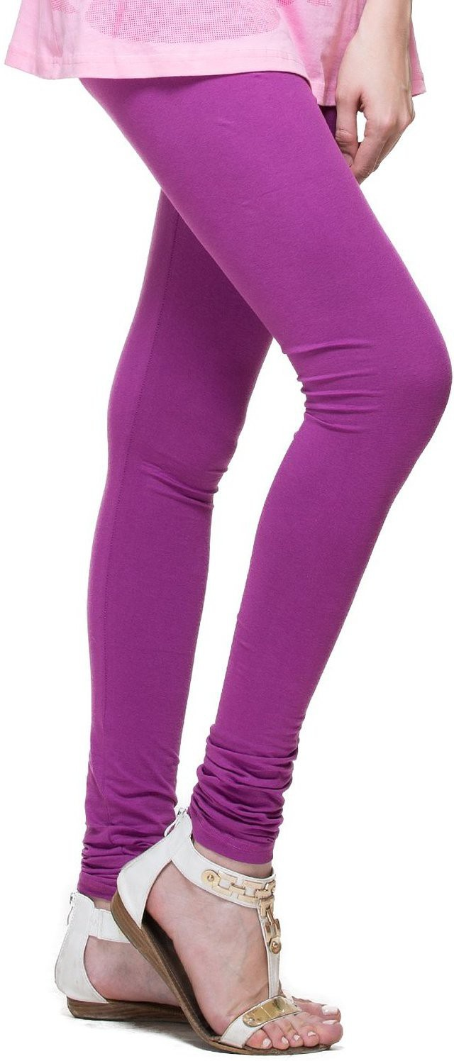 Angel Soft Womens Purple Leggings