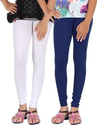 Be Style Women,s White, Dark Blue Leggings