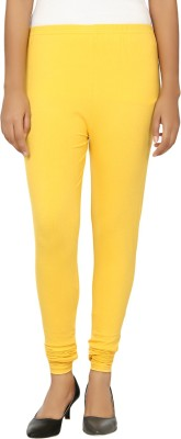 Day By Day Women's Yellow Leggings