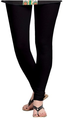 Dream Fashion Women's Black Leggings