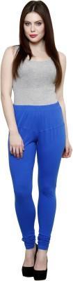 Pistaa Women's Blue Leggings