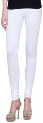 Sampoorna Collection Women's White Leggings