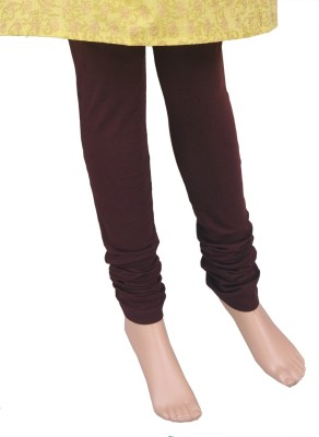 Saashiwear Women's Brown Leggings at flipkart
