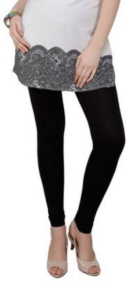 Mahadevi Women's Black Leggings