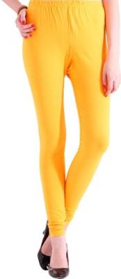 Zweena Women's Yellow Leggings
