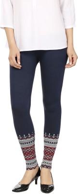 desistyle Women's Blue, White Leggings