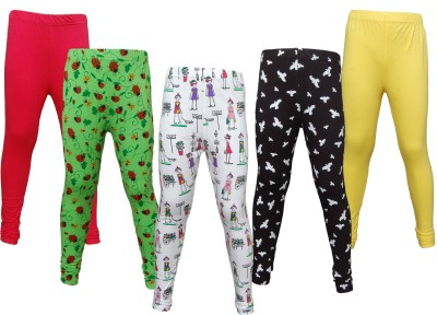 Little Star Girl's Multicolor Leggings