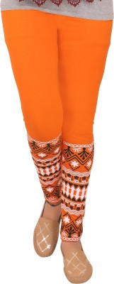 T-BRO,S Enterprises Women's Orange Leggings