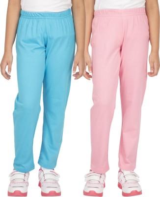 Ocean Race Girl's Blue, Pink Leggings