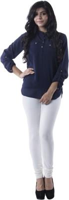 Prashil Women's White Leggings
