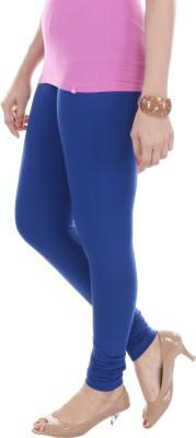 Texvilla Women's Blue Leggings