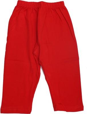 Babeezworld Girl's Red Leggings