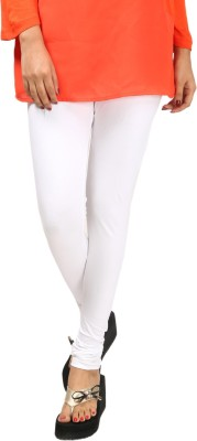 1 Luk Women's White Leggings