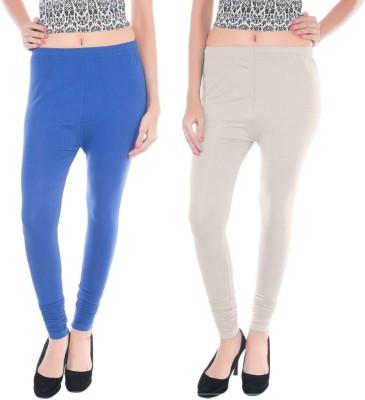 Colors More Women's Blue, White Leggings