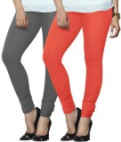 Arma Women's Pink, Grey Leggings (Pack o...