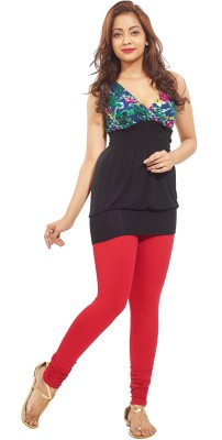 Minu Suits Women's Red Leggings