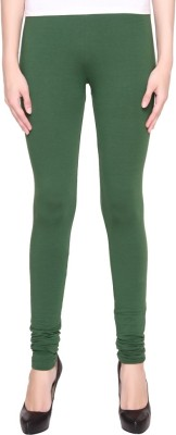 Jainam Girl's Dark Green Leggings
