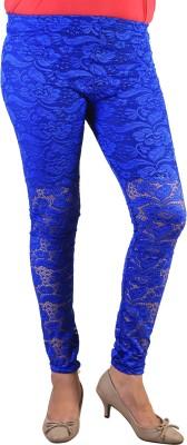 indian street fashion Women's Blue Leggings