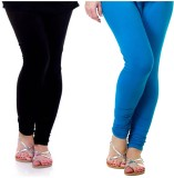 Archway Women's Black, Blue Leggings (Pa...