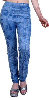 Addaa Women's Blue Jeggings