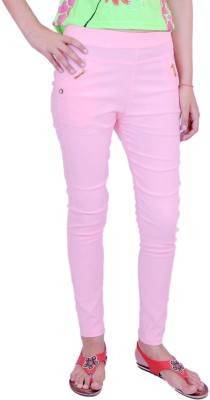 Krazzy Collection Women's Pink Jeggings