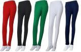 Khi Women's Multicolor Leggings (Pack of...
