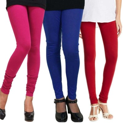 Ace Women's Red, Blue, Pink Leggings