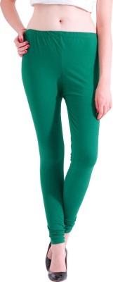 Adam n Eve Women's Green Leggings