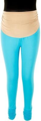 Kriti Ethnic Maternity Women's Maternity Wear Blue Leggings