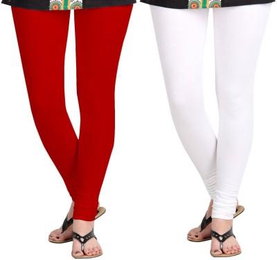 ZACHARIAS Women's Red, White Leggings
