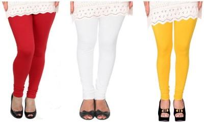 Raro Women's Red, White, Yellow Leggings