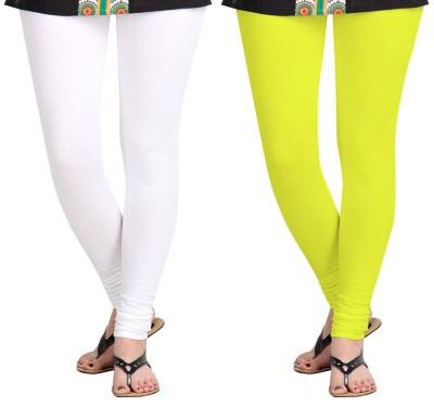 AF Sayonara Women's White, Yellow Leggings