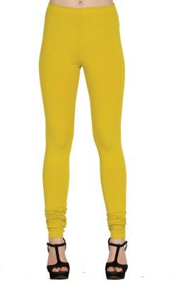 Xora Women's Yellow Leggings