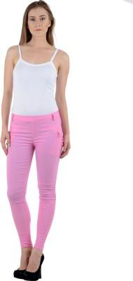 Tej Star Women's Pink Jeggings